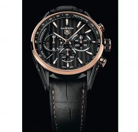 TAG Heuer Carrera 1969 Titanium & Rose Gold
